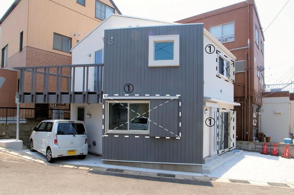 横須賀の家 (外観)