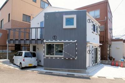 外観 (横須賀の家)