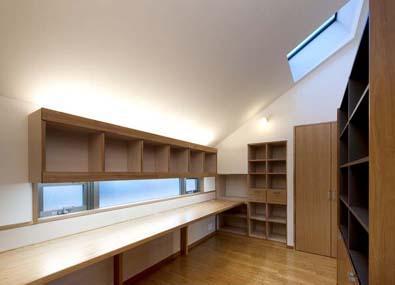 建築家:柳沢伸也「ワークスペースのある二世帯住宅」