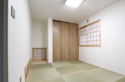 神戸市西区の家 (和室)