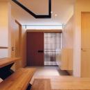 明るい玄関(撮影:JIKUart)