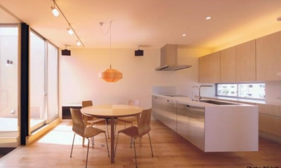 HOUSE O+U (ダイニングキッチン-A(撮影:JIKUart))