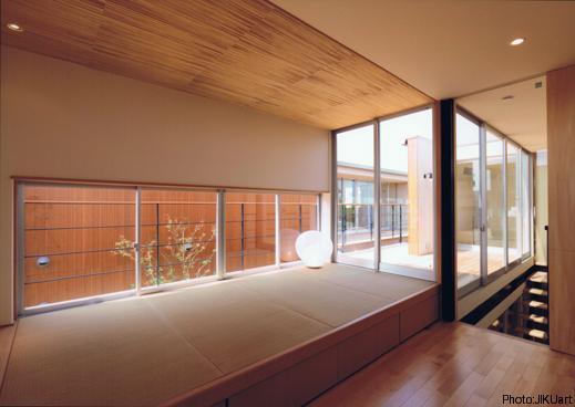 HOUSE O+Uの写真 畳スペース(撮影:JIKUart)