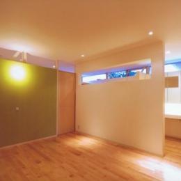 HOUSE O+U (ベッドルーム-A(撮影:JIKUart))