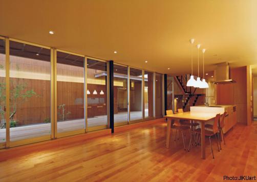 HOUSE O+U (ダイニングキッチン-B2(撮影:JIKUart))