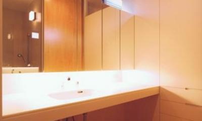 洗面スペース(撮影:JIKUart)|HOUSE O+U