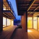 HOUSE O+Uの写真 二世帯住宅の空間のつながり2(撮影:JIKUart)