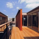 HOUSE O+Uの写真 二世帯住宅の空間のつながり3(撮影:JIKUart)
