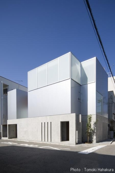 T house (店舗兼住宅) (外観)