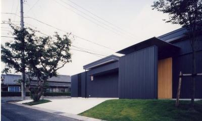 I HOUSE (木造平屋) (外観)