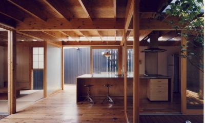 I HOUSE (木造平屋)