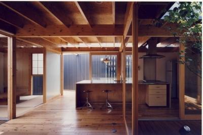 I HOUSE (木造平屋) (ダイニング)