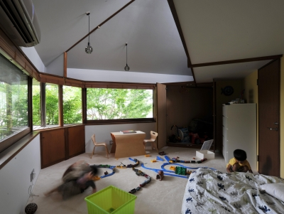 子供部屋 (美しが丘の家改修)