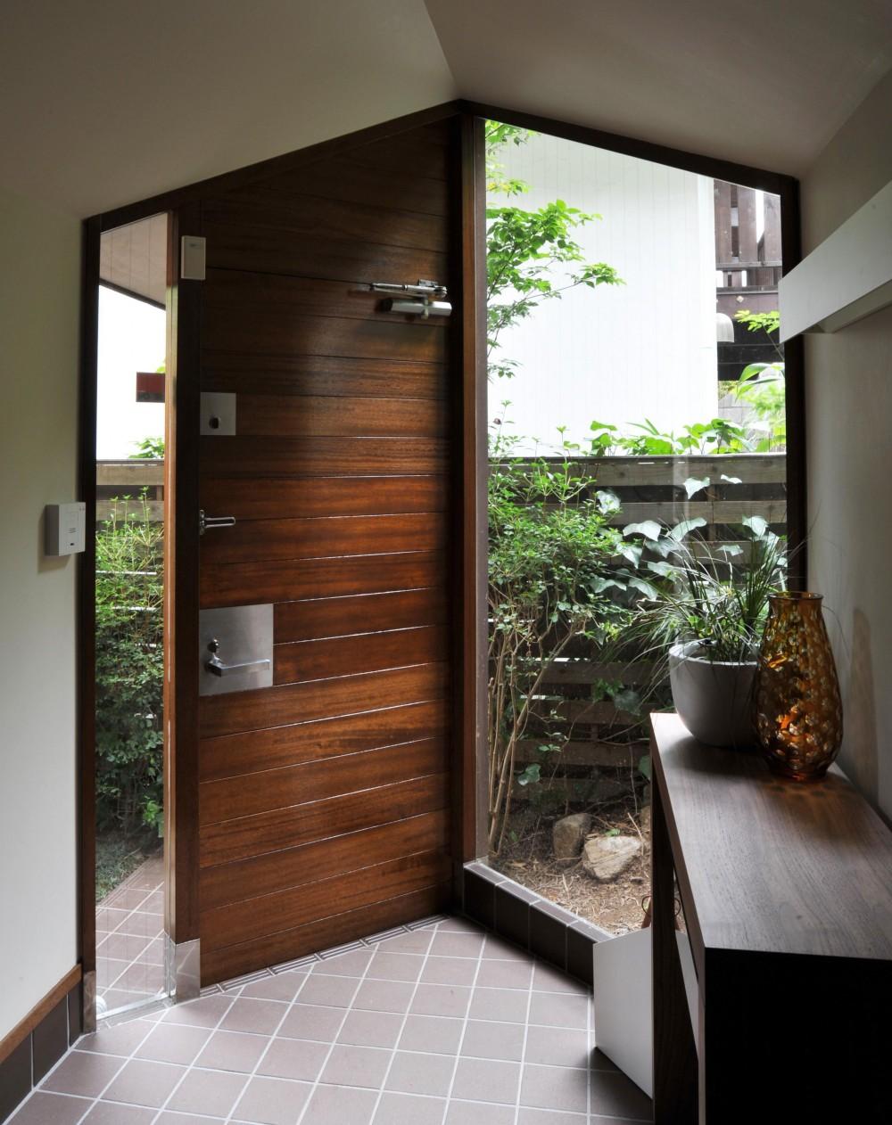 美しが丘の家改修 (玄関)