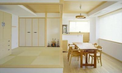 HOUSE+5 (和風モダンのダイニング)