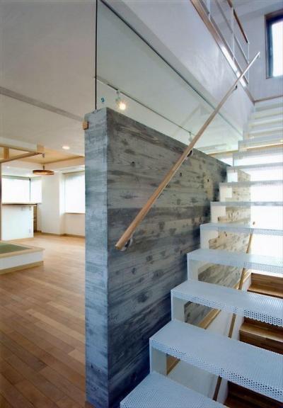 HOUSE+5 (軽やかな階段)
