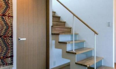 HOUSE+5 (動きのある玄関)