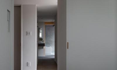 奈坪の家 (廊下)