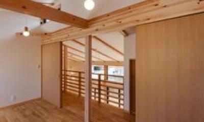 2階子供部屋(撮影:車田写真事務所)|植田の家 VI