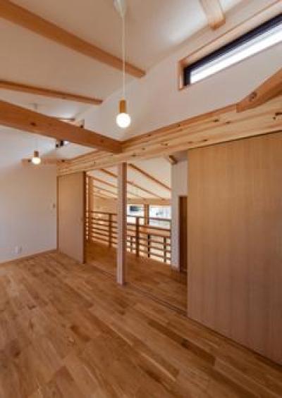 2階子供部屋(撮影:車田写真事務所) (植田の家 VI)