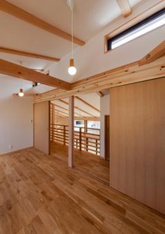 植田の家 VIの写真 2階子供部屋(撮影:車田写真事務所)
