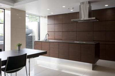 CUCINA キッチン 実例 (シンプルですっきりしたデザインのキッチン)