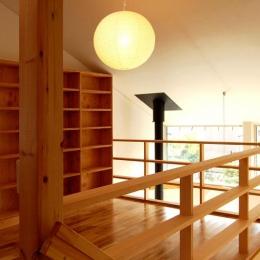 Bookshelf (2階本棚スペース)