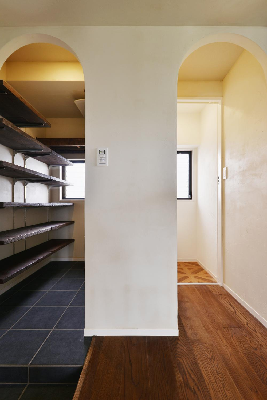 U邸・全面リフォーム!家族が快適に暮せる住まいの部屋 シューズクローク