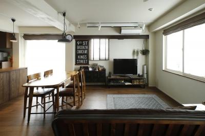 ホームシアターリビング (U邸・全面リフォーム!家族が快適に暮せる住まい)