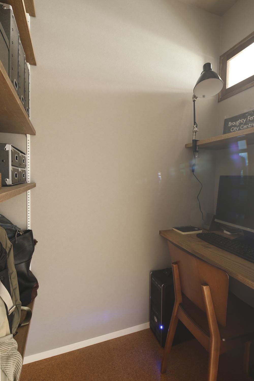 U邸・全面リフォーム!家族が快適に暮せる住まいの部屋 書斎
