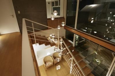 階段 (東中野の住宅改修(K邸))