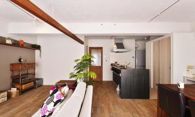 LDK-2|O邸・間取りを再構築!デッドスペースを活用した開放的な住まい