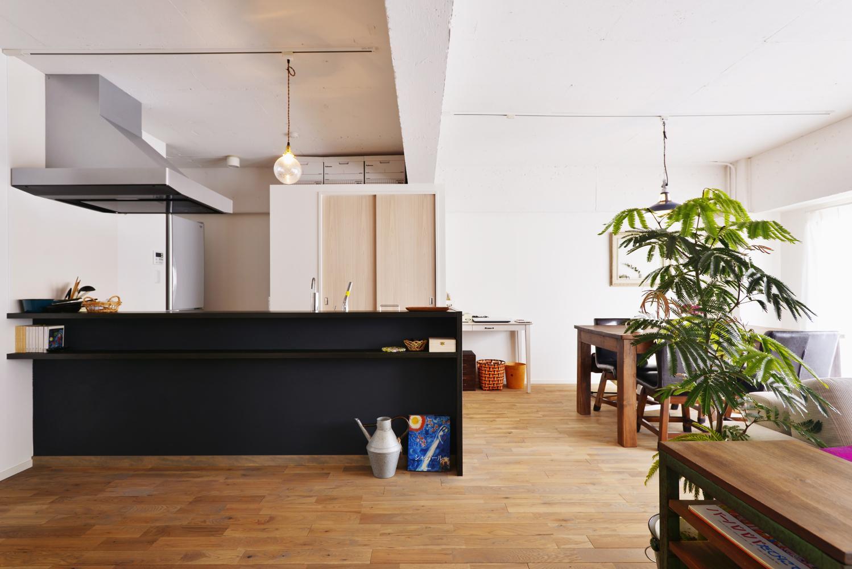 O邸・間取りを再構築!デッドスペースを活用した開放的な住まいの写真 LDK-3