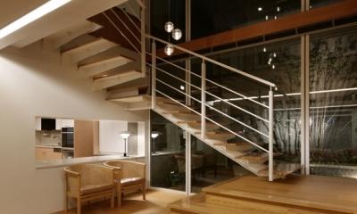 東中野の住宅改修(K邸) (階段)