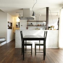 ダイニングキッチン1 (Y邸・昔懐かしい昭和時代のレトロな住まい)