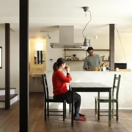 ダイニングキッチン2 (Y邸・昔懐かしい昭和時代のレトロな住まい)