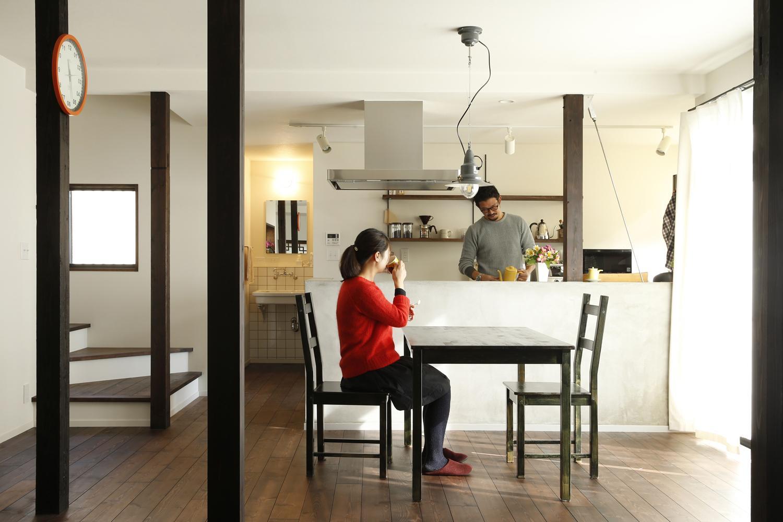 Y邸・昔懐かしい昭和時代のレトロな住まいの写真 ダイニングキッチン2