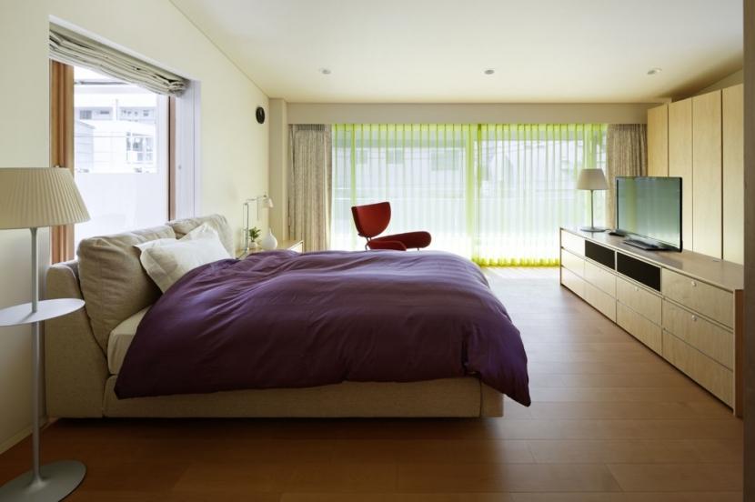 K邸の写真 ベッドルーム