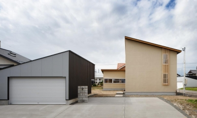 秋田の田舎の家