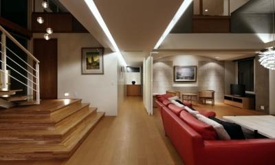 東中野の住宅改修(K邸) (廊下)