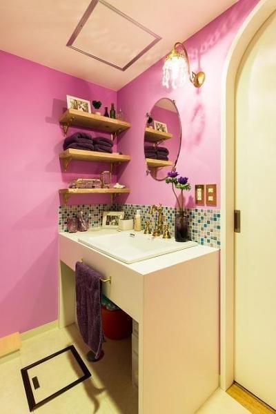 洗面室 (おとぎ話のようなお家)