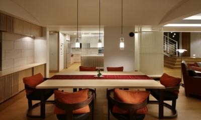 東中野の住宅改修(K邸) (ダイニングルーム)