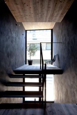 1.8M幅の家 (リビングスペース(撮影:傍島利浩))