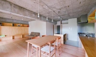 house TA (リビングダイニング2(撮影:RYOHEI HAMADA))