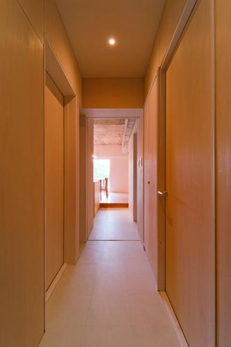 house TAの部屋 廊下(撮影:RYOHEI HAMADA)