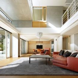 東中野の住宅改修(K邸)-リビングルーム
