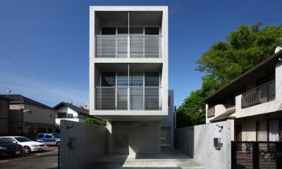 南烏山の二世帯住宅