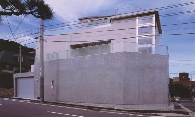 S邸-家の中に外を内包した家-神戸