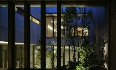 東中野の住宅-2(K邸アネックス) (ガーデン)