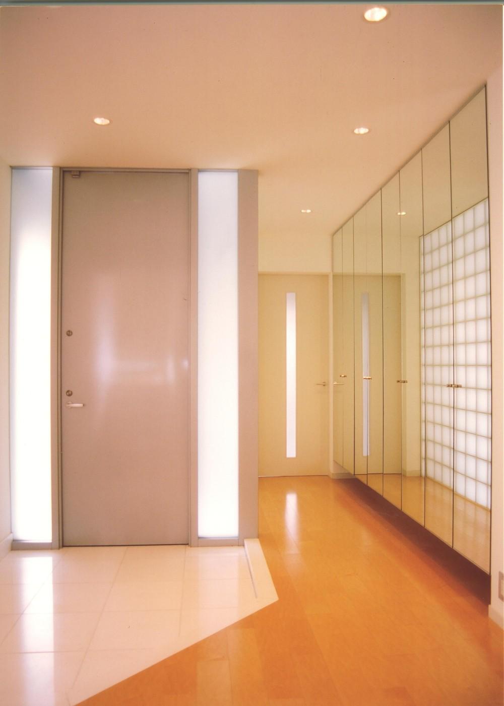 S邸-家の中に外を内包した家-神戸 (玄関)